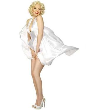 Ladies Licensed Marilyn Monroe Costume